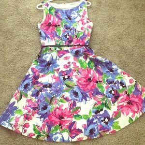Kasper size 10 floral dress